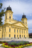 Città di Debrecen Fotografie Stock Libere da Diritti