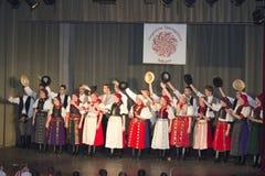 Città di Debrecen, Ungheria - 11 giugno 2014 - ungherese Fotografia Stock Libera da Diritti