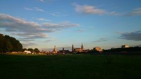 Città di Dresda fotografia stock libera da diritti