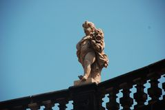 Città di Dresda Germania fotografia stock