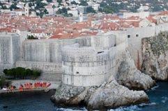 Città di Dubrovnik Fotografie Stock Libere da Diritti