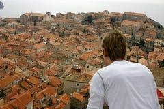 Città di Dubrovnik Fotografia Stock Libera da Diritti