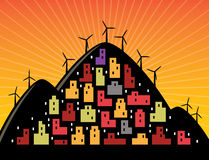 Città di Eco Royalty Illustrazione gratis