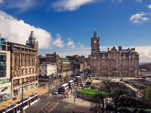 Città di Edimburgo Fotografia Stock Libera da Diritti