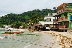 Città di EL Nido, Filippine fotografia stock libera da diritti