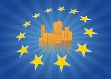 Città di Europa Fotografie Stock