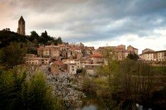 Città di Fairy-tale Fotografia Stock