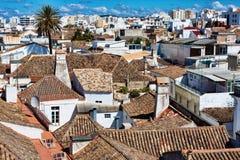 Città di Faro Immagini Stock Libere da Diritti