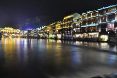 Città di FengHuang Fotografia Stock