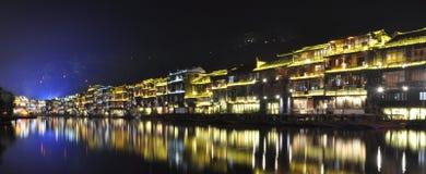 Città di FengHuang Fotografie Stock Libere da Diritti