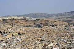 Città di Fes Fotografia Stock