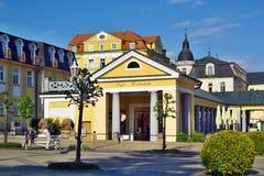 Città di Franzensbad Fotografia Stock