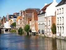Città di Gand, Belgio, Europa Fotografia Stock