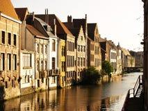 Città di Gand, Belgio, Europa Fotografia Stock Libera da Diritti