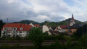 Città di Gengenbach Fotografia Stock
