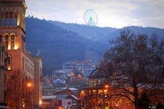 Città di Georgia Tbilisi fotografia stock libera da diritti