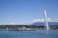 Città di Ginevra fotografia stock