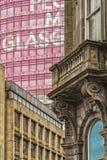 Città di Glasgow Corner Scene Fotografia Stock Libera da Diritti