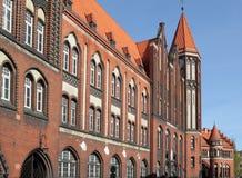 Città di Gliwice Fotografie Stock Libere da Diritti