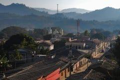 Città di Gracias nell'Honduras Fotografie Stock