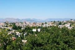 Città di Granada Fotografie Stock Libere da Diritti
