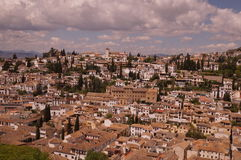 Città di Granada, Spagna Fotografia Stock Libera da Diritti