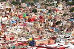 Città di Guanajuato del centro fotografia stock