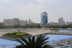 Città di guang'an di luogo natio di Deng Xiaoping Fotografia Stock
