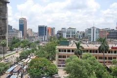 CITTÀ DI GULISTAN DACCA DEL BANGLADESH immagine stock