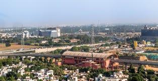 Città di Gurgaon immagine stock libera da diritti