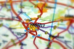 Città di Hasselt - il Belgio immagini stock libere da diritti