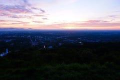 Città di Hatyai di vista, Songkhla, Tailandia Fotografia Stock