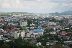 Città di Hatyai Tailandia fotografie stock libere da diritti
