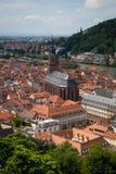 Città di Heidelberg Fotografie Stock Libere da Diritti