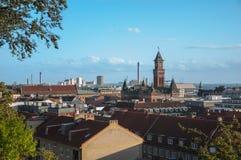 Città di Helsingborg fotografia stock