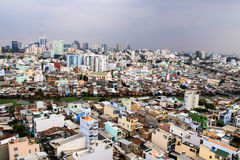 Città di Ho Chi Minh Fotografia Stock Libera da Diritti