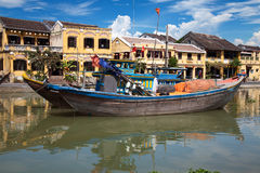 Città di Hoi An Fotografie Stock