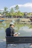 Città di Hoi An Ancient, provincia di Quang Nam, Vietnam Fotografie Stock Libere da Diritti