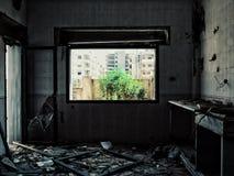 Città di Homs in Siria fotografie stock