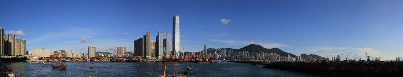 Città di Hong Kong Fotografie Stock Libere da Diritti