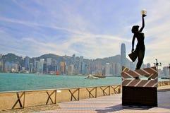 Città di Hong Kong Fotografia Stock
