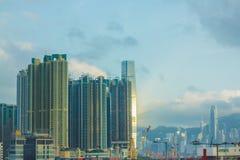 Città di Hong Kong Immagine Stock