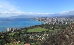 Città di Honolulu Fotografie Stock
