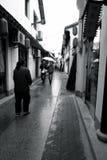Città di Huangshan Fotografia Stock