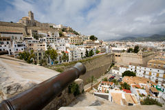 Città di Ibiza Immagine Stock