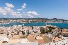 Città di Ibiza, Isole Baleari, Isole Baleari fotografie stock libere da diritti