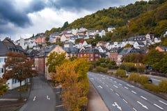 Città di Idar Oberstein, Germania Fotografia Stock