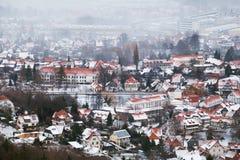 Città di Ilsenburg in montagne di Harz Fotografia Stock Libera da Diritti