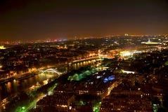 Città di indicatore luminoso immagine stock