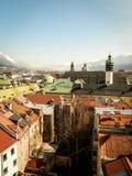 Città di Innsbruck Immagini Stock Libere da Diritti